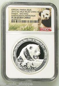 Smithsonian-China-Panda-Bao-Bao-NGC-PF70-UC-2015-2-oz-Proof-Silver-Medal
