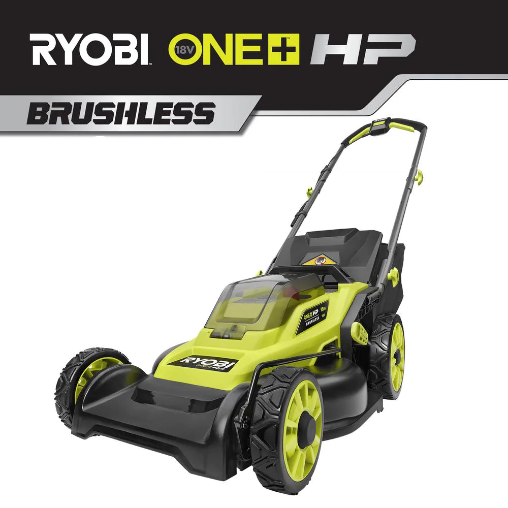 16 In. One+ Hp 18V Lithium-Ion Cordless Battery Walk Behind Push Lawn Mower (Too
