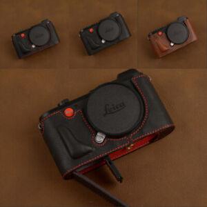 Handmade-Leather-Protective-Half-Case-for-Leica-CL-Camera-Retro-Bottom-Cover-New