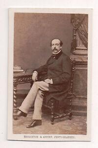 Vintage-CDV-Aristocratic-French-Man-Second-Empire-Bousseton-amp-Appert-Photo