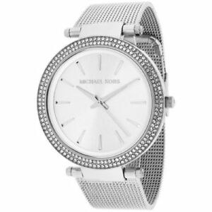 0ece37fd8936 Michael Kors Women s Darci Stainless Steel Mesh Bracelet Watch 39mm MK3367