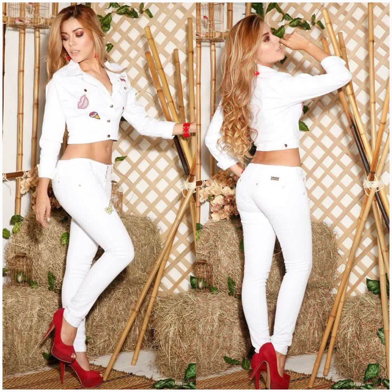 Colombian Enterizos Jumpsuits New Collection Size Available 5 6,7 8USA