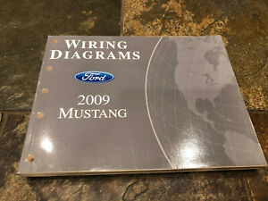 2009 Ford Mustang Wiring Diagrams Electrical Service Manual Ebay