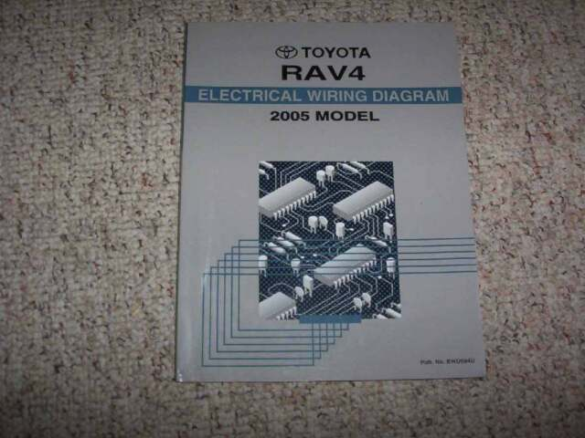 2005 Toyota Rav4 Electrical Wiring Diagram Manual Vsc Trac