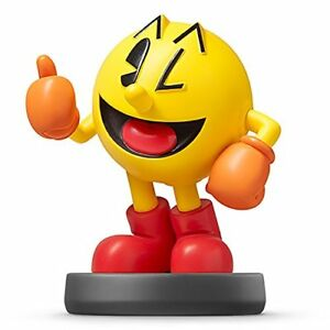Nintendo-amiibo-PAC-MAN-Super-Smash-Bros-3DS-Wii-U-Accessories-NEW-from-Japan