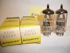 2 - AMPEREX 6GM8/ECC86  HI-FI,STEREO,VACUUM TUBES  A508