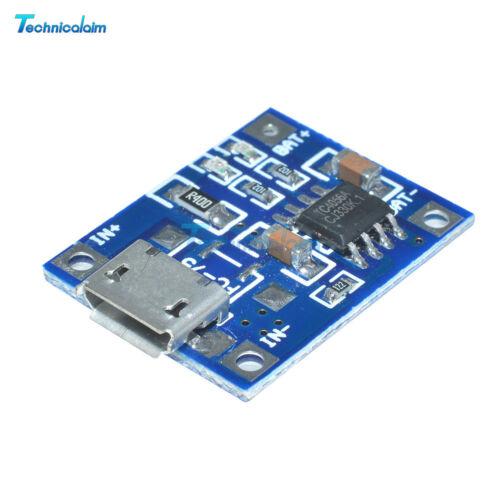 5Pcs TP4056 5V 1A MICRO USB Battery Charging Module