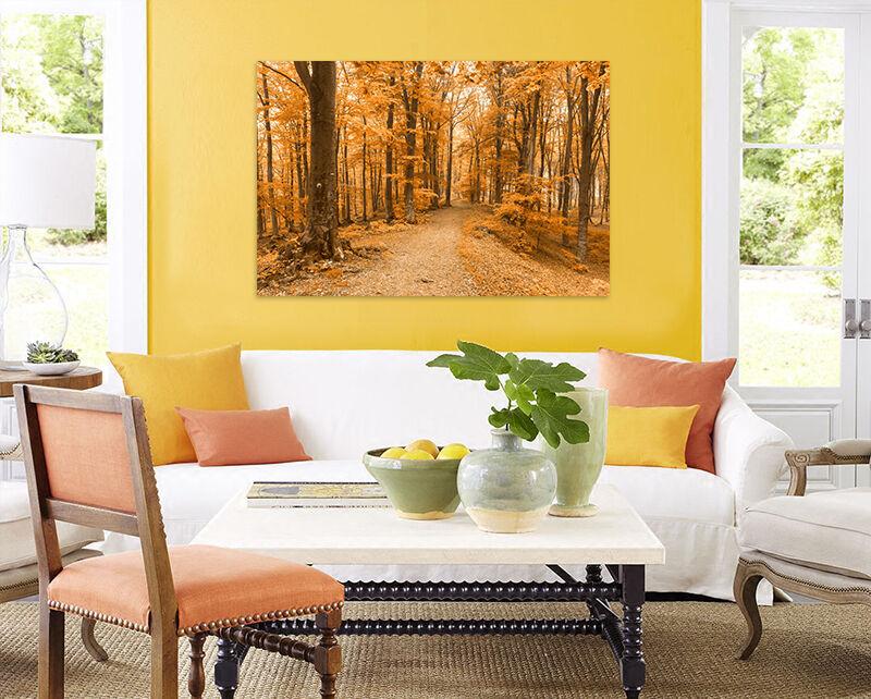 3D Insbesondere Goldenen Wald 8 Fototapeten Wandbild BildTapete AJSTORE DE Lemon