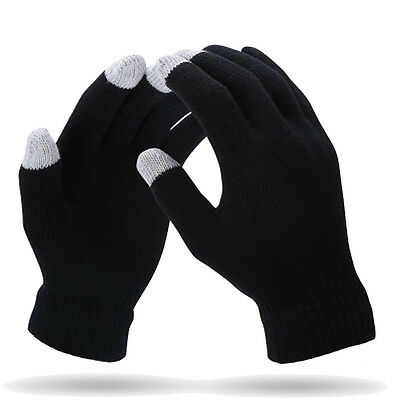 [His-and-Hers Gloves] Smart Knitted Ultra-Soft & Warm Gloves for Boy&Girl Friend