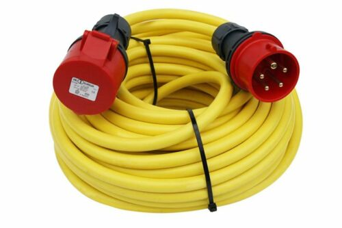 CEE fuerte corriente cable 16a 20m alargador 5x1,5mmn