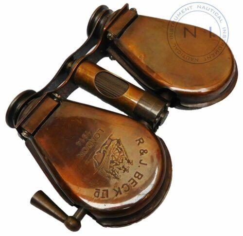 Vintage Style Binocular R/&J BECK Maritime London 1914 Collectible Minocular Item
