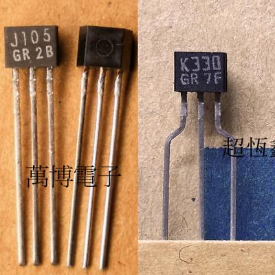 5PCS X 2SK330-GR orientações TO-92S