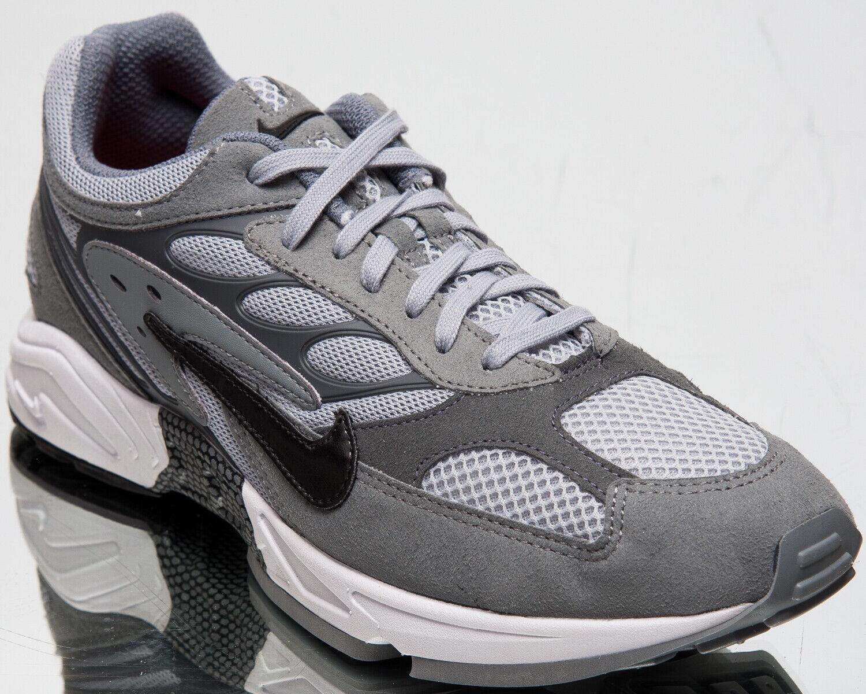 Nike Luft Geist Racer Herren Cool Grau Schwarz Lifestyle Turnschuhe Niedrig Schuhe