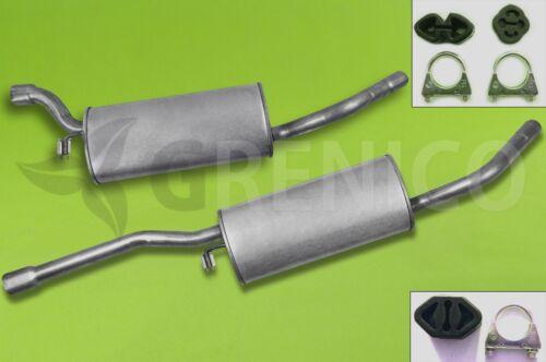 Montagesatz SKODA FELICIA 1.6 Kombi 1995-2001 Auspuff Komplette Auspuffanlage