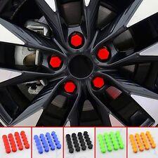20x Auto Accessories Wheel Nut Lug Bolt  Screw Cap Cover Dust Protective 19mm