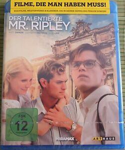Blu-ray-DER-TALENTIERTE-MR-RIPLEY-NEU-amp-OVP-mit-Jude-Law-Matt-Damon