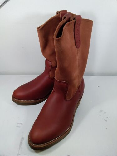 Red Wing Pecos Boots Brick