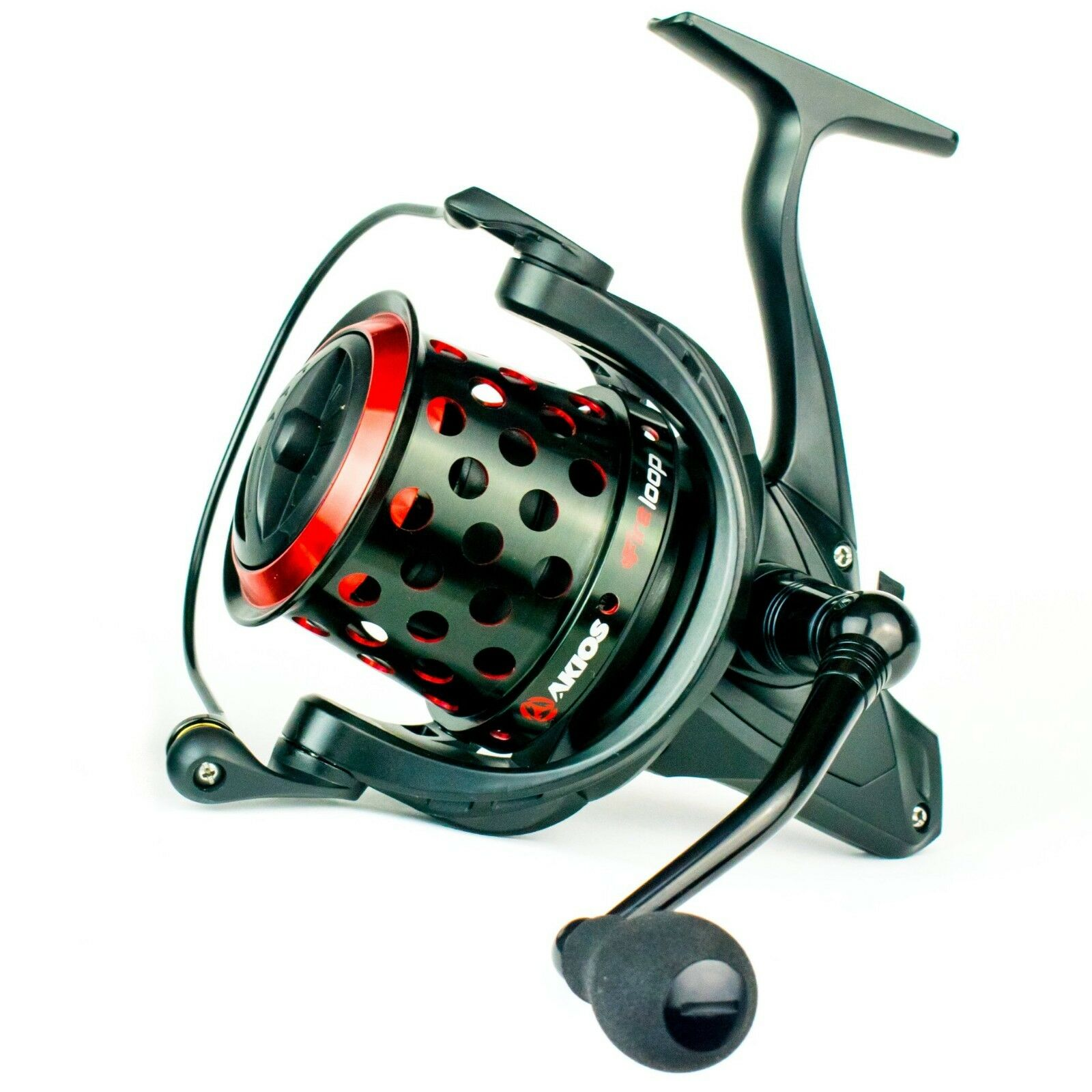 NEW Akios Fireloop Spinning Fishing Reel Great for Long Casting and Power