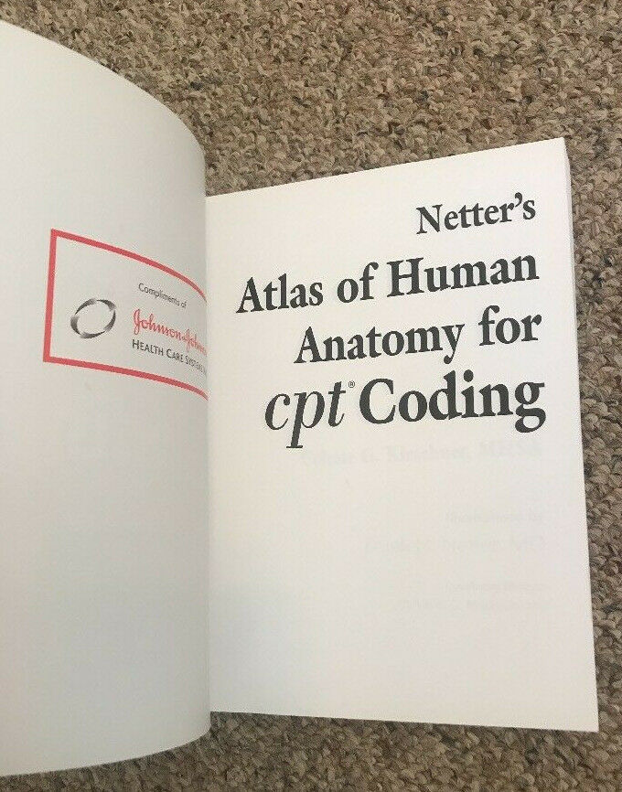 Buy Netters Atlas Of Human Anatomy For Cpt Coding By Celeste G