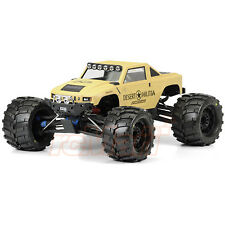 PRO-LINE Desert Militia Monster Truck Clear Body T/E Maxx Summit E-Revo #3401-00