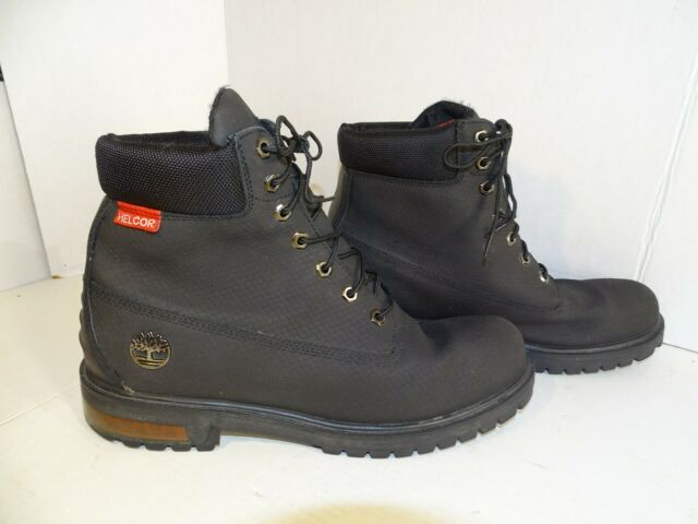Men's Timberland 6 Inch HELCOR Scuff Proof Boots Black Size 13 29516