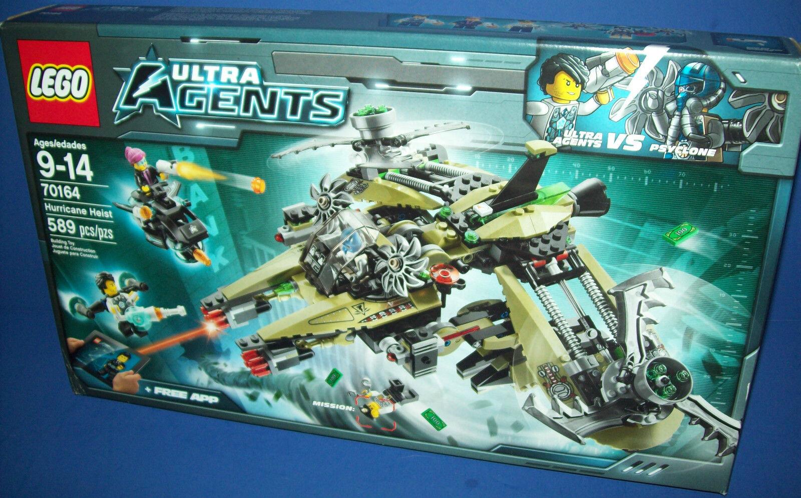 Lego 70164 Ultra Agente Hurricane Raub Nisb Neu Im Ruhestand