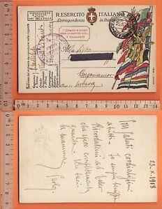 Cartolina Militare Regio Esercito Italiano - 19022
