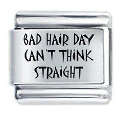 Bad Hair Day can't Daisy Dijes de JSC se adapta Classic Tamaño Italiano encanto pulsera