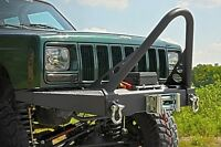 Front Winch Bumper With Stinger Bar And D-rings, 1984-2001 Jeep Cherokee Xj