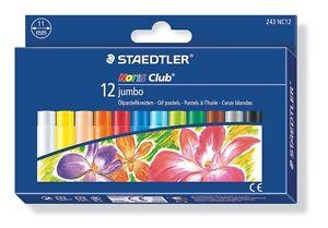 Staedtler 241 NC12 Noris Club Oil Pastel Pack of 12