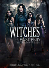 Witches of East End: The Complete First Season 1 One (DVD, 2014, 3-Disc Set) NEW