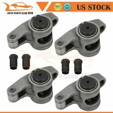 Stainless Steel Roller Rocker Arms For Small Block Chevy Sbc 350 716 15 Ratio