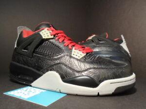 2005 Nike Air Jordan IV 4 Retro RARE RA LASER BLACK FIRE RED WHITE ... f3ae786d3