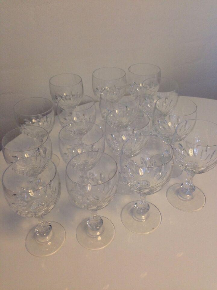 Glas, Krystal vinglas, Fransk mærke