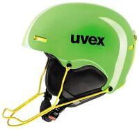 Uvex Helmet 5 Race Light Green/yello Ski Snowboard Winter Sports Racing