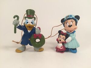 Details About Vintage Avon Christmas Ornaments Disney S Minnie And Scrooge Mcduck 1992