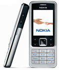 Brand Original Unlocked Nokia 6300 Silver Mobile Phone 2MP,MP3 Music,classic,GSM