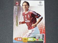 NESTA ROSSONERI MILAN AC UEFA PANINI CARD FOOTBALL CHAMPIONS LEAGUE 2011 2012