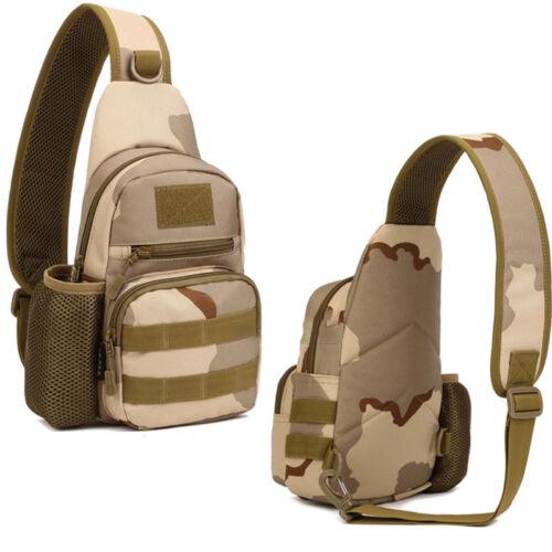 Military Canvas Laptop Backpack Messenger Travel Bag USB Charge Port Rucksack