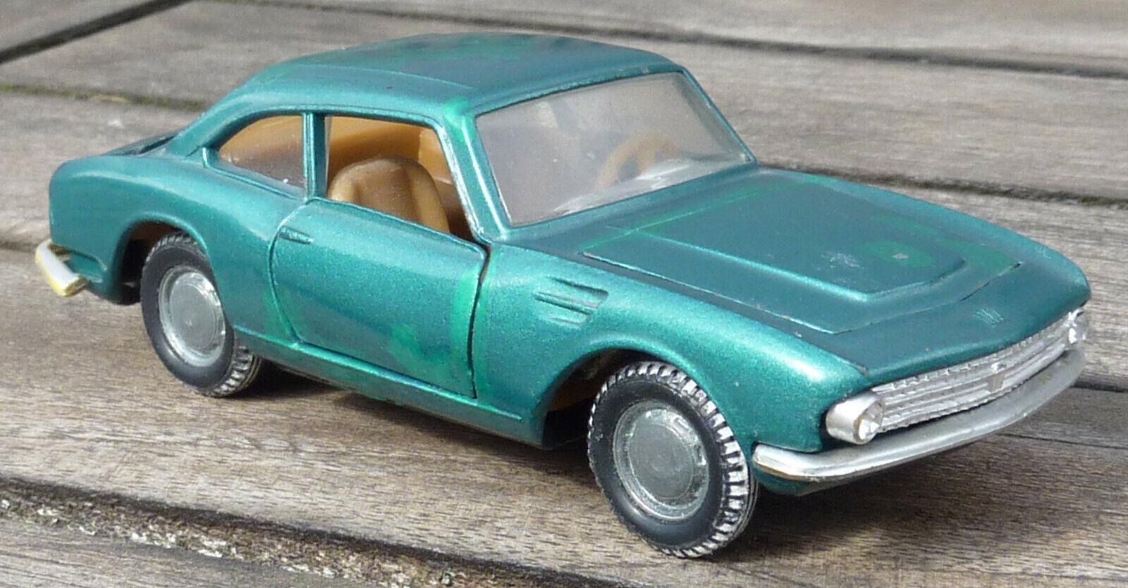 Fiat Coupe 1200 OSI,Politoys 1 43, guter Zustand   ,Rarität