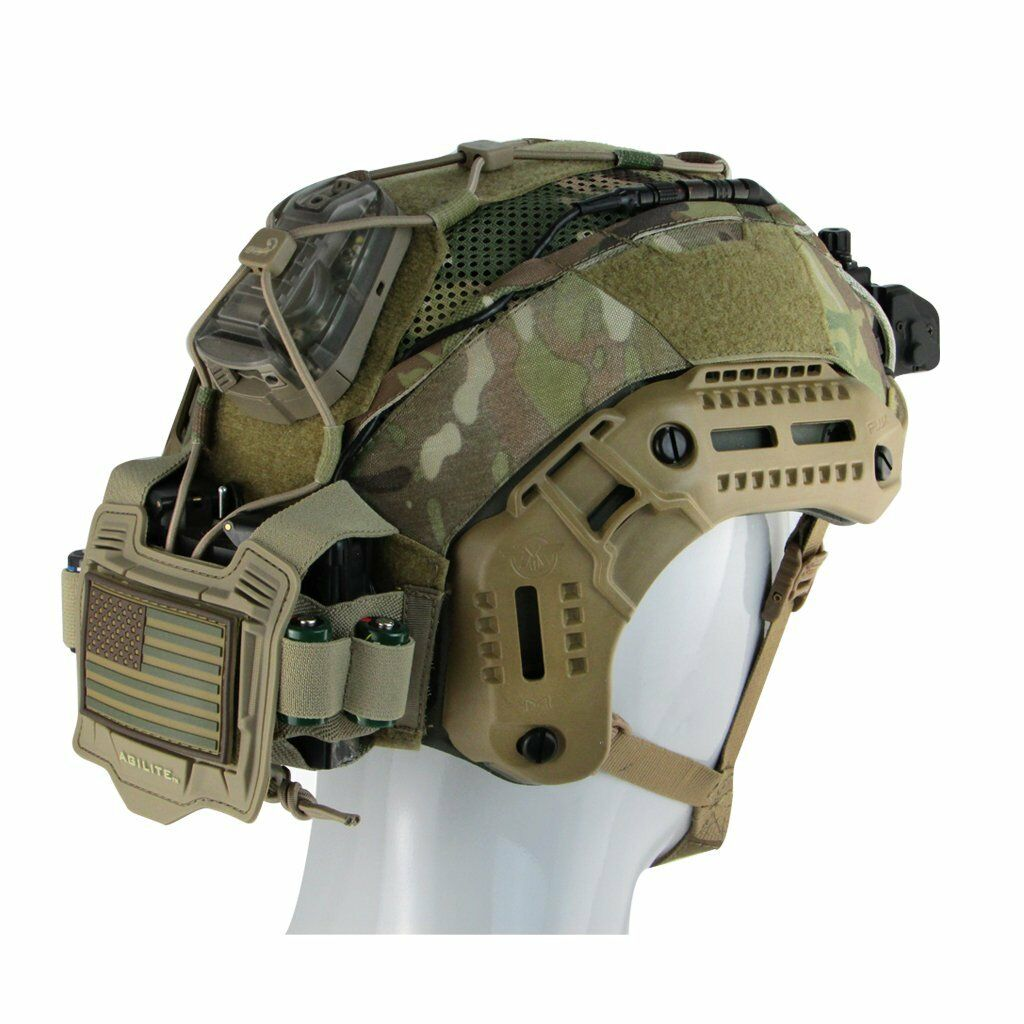 MTEK FLUX HELMET COVER GEN 4  Tactical Army Size L XL  fast shipping and best service