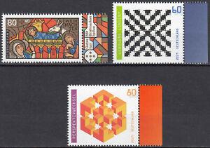 3495-3496-3497-postfrisch-mit-Rand-rechts-BRD-Bund-Deutschland-Briefmarken-2019