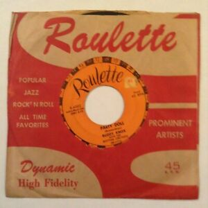 Buddy Knox Party Doll My Baby S Gone Roulette R 4002 Vg Ebay