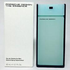 Porsche Design The Essence for Men Eau de Toilette 80ml 2.7Oz Ts Perfume