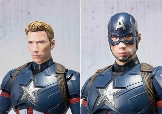 Marvel Avengers Civil War S.H.Figuarts Captain America Action Figure No box