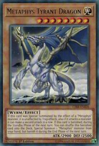 Yugioh-Metaphys-Tyrant-Dragon-CIBR-EN026-Rare-1st-Edition-Near-Mint-Engl