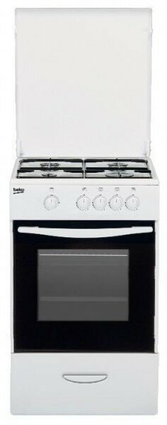 Beko cocina CSG42009DW 4f horno gas butano
