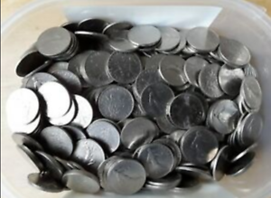 1 francs X lot de 50 piéces MONNAIE machine à sous jeux café billard flipper