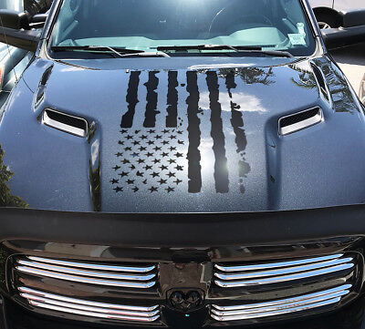 Dodge Ram Hemi 1500 2500 3500 Rebel Mopar Hood Decal Vinyl