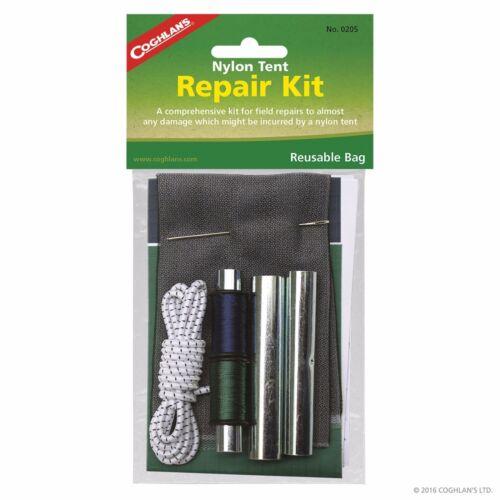 Coghlans nylon tente /& Auvent Kit Réparation